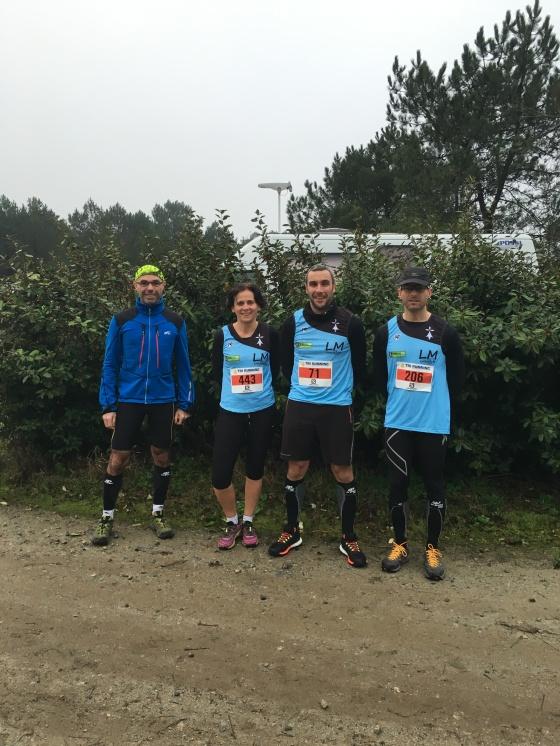 Trail de Plouhinec - 24 janvier 2016 22km