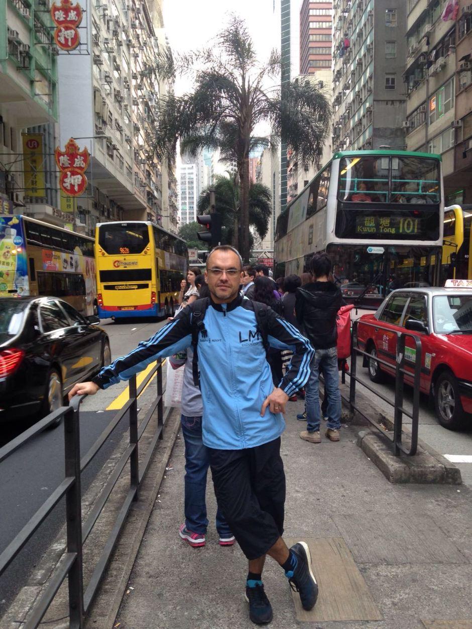 Karl à Hong Kong